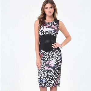 The Must Have BEBE Midi Office Dress!